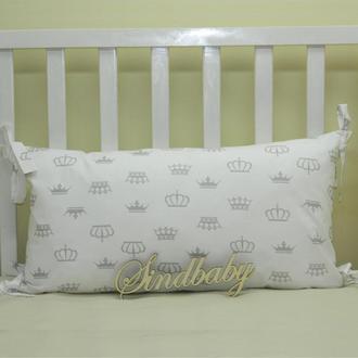Бортики подушки в кроватку, Подушка 30х60 -13