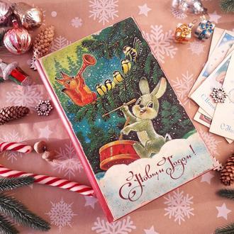 Книга-шкатулка, новогодний подарок.