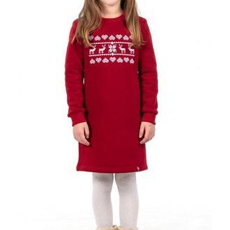 Платье для девочки Рождественская