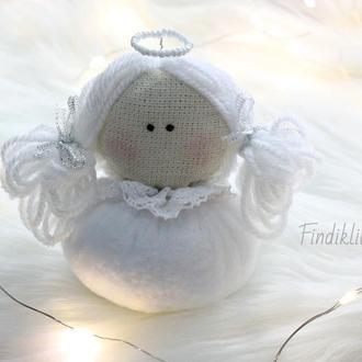 Текстильная куколка Ангелочек. Кукла ангел. Тильда ангел