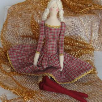 Кукла Тильда Эльза 48см