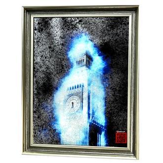 Картина за дзеркалом London in silver №529