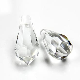 Подвеска хрустальная 984 Preciosa 7,5х15mm Crystal . 2 шт