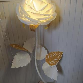 Роза светильник с изолона