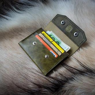 Чоловічий картхолдер чоловічий гаманець