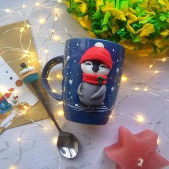 Чашка Пингвин