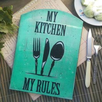 Кухонная доска из ольхи