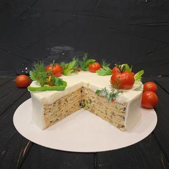 Солоні торти