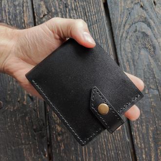 Кожаный мужской кошелек . Портмоне из кожи