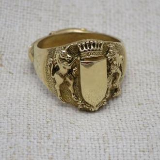 Кольцо- открывалка латунь