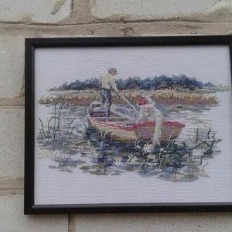"""картина """"Двоє в човні"""""""