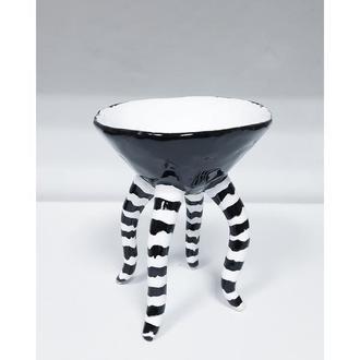 Керамический черный бокал 150 мл