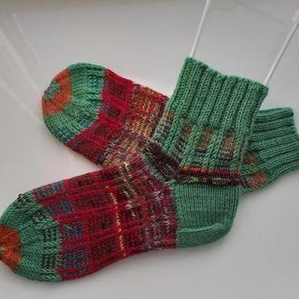 Носки теплые и стильные.Размер 36-38.