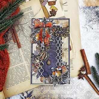 Новогодняя/рождественская открытка