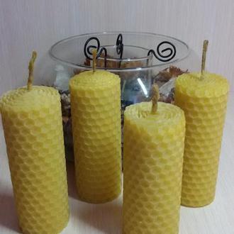 Свеча из натурального пчелиного воска