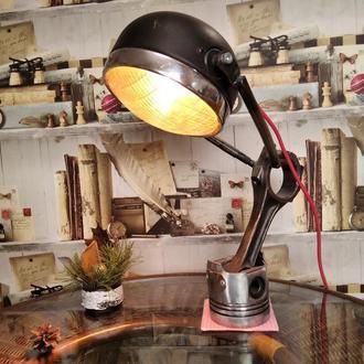 Лампа стімпанк лофт дизельпанк 1