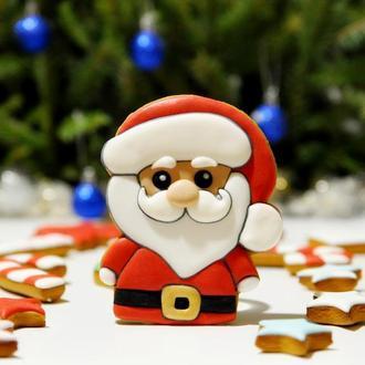 Пряничный Дед Мороз.
