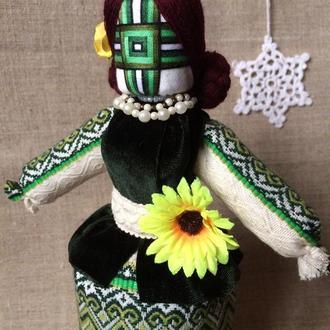 Авторська лялька-мотанка КВИТКА