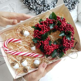 Новогодний подарок, подарок к Рождеству, сувенир