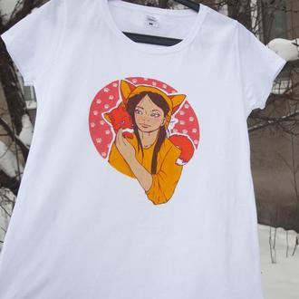 """Лисичка"" футболка"
