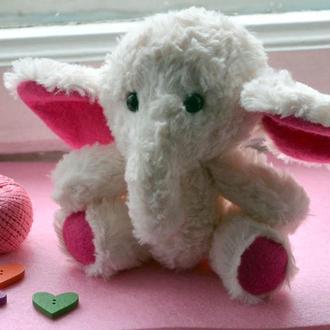 Слоненок-мамонтенок Зефирчик