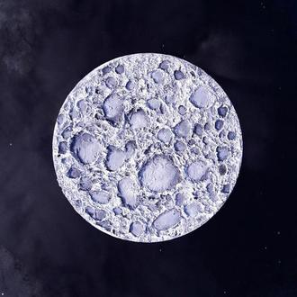 "Рисунок картина ""луна"""