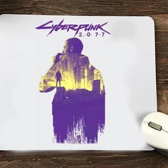 """Коврик для мыши с принтом """"Cyberpunk 2077"""""""