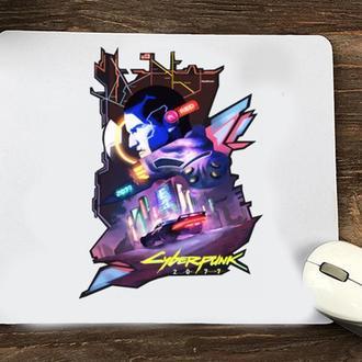 """Коврик для мыши с принтом """"Cyberpunk 2"""""""