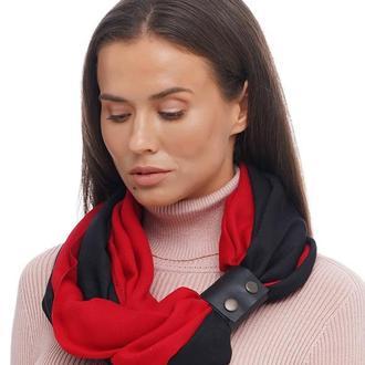 "Кашемировый шарф""Милан "",   шарф снуд,  шарф  бактус, зимний женский шарф, большой женский шарф"
