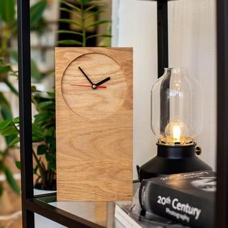 """Настольные деревянные часы """"Static I"""""""
