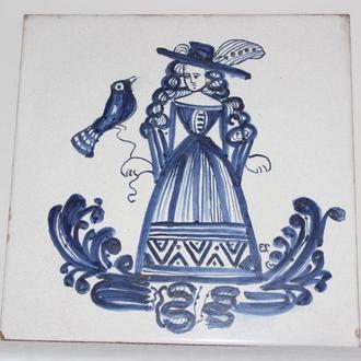 Керамическая плитка с ручной росписью (Испания)