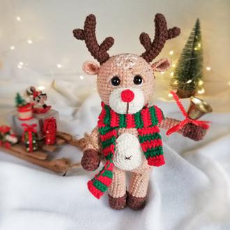Новогодняя игрушка олень