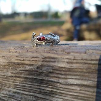 "Серебряное кольцо ""Ветка"""