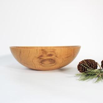Салатник из дерева
