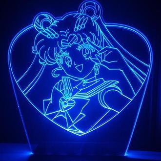 Сейлор Мун аниме Sailor Moon светильник Ночник