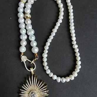 Кольє з перлів