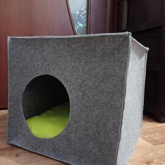 Лежанка куб