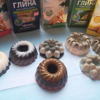 Мыло с глинами