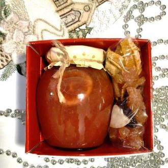 """Сладкий подарок на 8 марта. Варенье/конфитюр + сувенир цукаты""""Ассорти"""". Набор подарочный."""