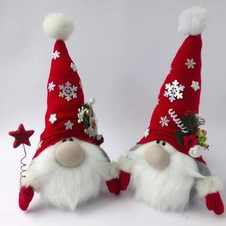 Гном скандинавский новогодний