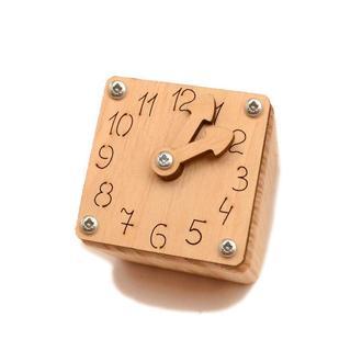 Заготівля для Бизикубика Малі Годинник зі Стрілками 4,8 см Годинник Будильник