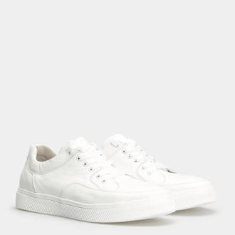 Мужские белые кожаные кеды Pavlina 081-247-0049