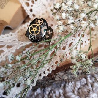 Ажурное кольцо стимпанк