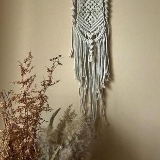 Макраме панно, декор на стену