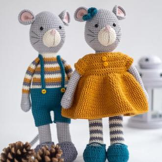 Мышки девочка и мальчик