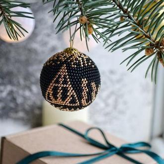 Новогодние украшения Гарри Поттер, символ Дары смерти