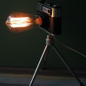 Светильник фотоапарат