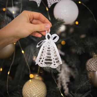 Рождественские колокольчики, Новогодние украшения, Игрушки на елку, Новогодний декор для дома