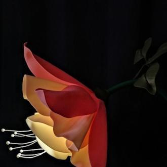 Светильник Фуксия (напольный, цветок в горшке)