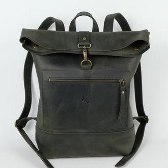 Кожаный рюкзак shabby backpack